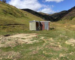 Installation of Turk hut