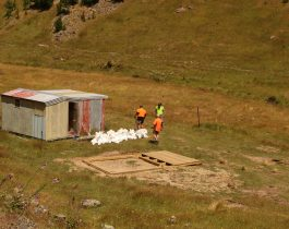 Installation of Turk hut