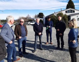 Minister Damien O'Connor visit September 2020